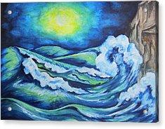 Deep Water - Wcs Acrylic Print