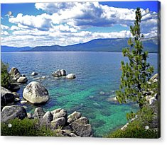 Deep Waters Lake Tahoe Acrylic Print