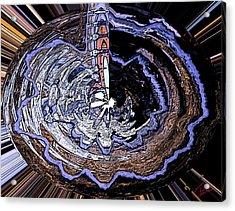 Deeper Life Circle  Works 2 Acrylic Print by Colette V Hera  Guggenheim