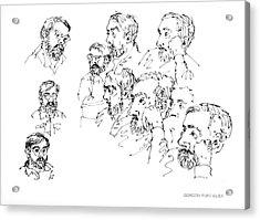 Deepfreeze-s.pole-art5 Acrylic Print by Gordon Punt