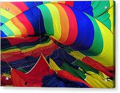 Deflated Acrylic Print by Mike Martin