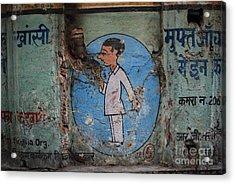 Delhi Smoker Acrylic Print by Jen Bodendorfer