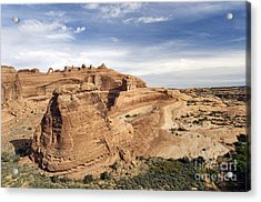 Delicate Arch Viewpoint - D004091 Acrylic Print by Daniel Dempster