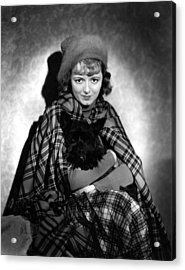 Delicious, Janet Gaynor, 1931 Acrylic Print
