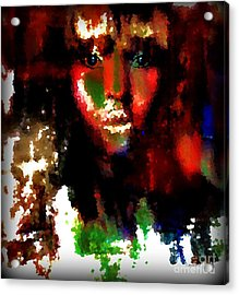 Delilah And The Secret Acrylic Print