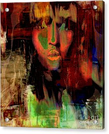 Delilah And The Secret To Samson's Strength Acrylic Print