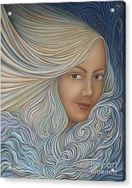 Demeter Acrylic Print by Joanna Pregon