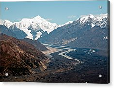 Acrylic Print featuring the photograph Denali National Park by Gary Rose