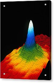 Density In A Bose-einstein Condensate Acrylic Print by National Institute Of Standards And Technology (nist)