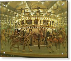 Dentzel Carousel At Glen Echo Park Maryland Acrylic Print