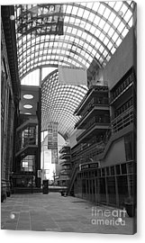 Denver Center For Performing Arts Acrylic Print by David Bearden