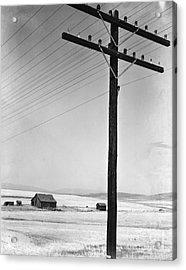 Depression Era Rural America Acrylic Print by Photo Researchers