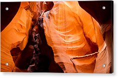 Depths Of The Canyon Acrylic Print by Adam Pender