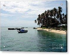 Derawan Island Acrylic Print by Antoni Halim