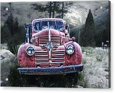 Derelict Dodge Acrylic Print