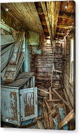 Derelict House Acrylic Print