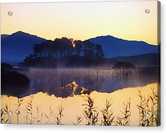 Derryclare Lough, Connemara, Co Galway Acrylic Print by The Irish Image Collection