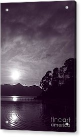 Derwent Ripples Acrylic Print by Linsey Williams