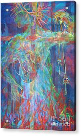 Descended Acrylic Print by Deb Magelssen