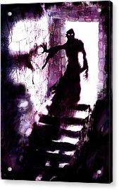 Descent Acrylic Print by Mark Conrad