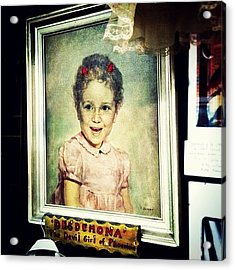 Desdemona: The Devil Girl Of Phoenicia Acrylic Print