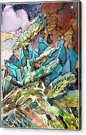 Desert Abstract Acrylic Print