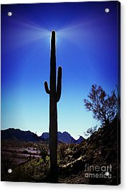 Desert Beacon Acrylic Print