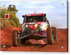 Acrylic Print featuring the photograph Desert Buggy by Paul Svensen