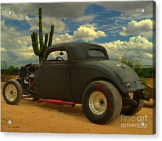 Desert Hot Rod Acrylic Print