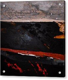 Desert Landscape Acrylic Print by Mohamed KHASSIF