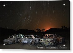Desert Nights Acrylic Print by James Mcinnes