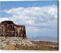 Desert Sky Acrylic Print by Terry Eve Tanner