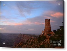 Desert View Watchtower Acrylic Print by Cassie Marie Photography