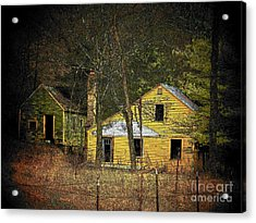 Deserted Cabins Acrylic Print by Joyce Kimble Smith