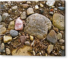Designs By Nature - Fp3 - Rocks Acrylic Print by Felix Zapata