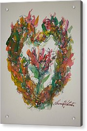 Desire My Heart Acrylic Print by Edward Wolverton