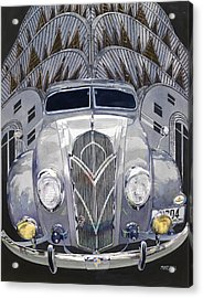 Desoto And Deco Design Acrylic Print by Mike Hill