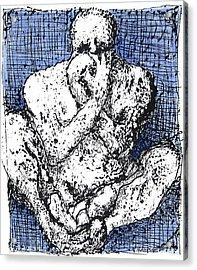 Despair Acrylic Print by Vincent Randlett III