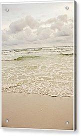Destin Beach Acrylic Print by Tiffany Zumbrun