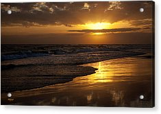 Destin Sunset  Acrylic Print