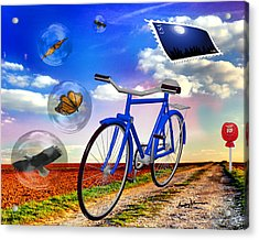 Destination Unknown Acrylic Print by Anthony Caruso