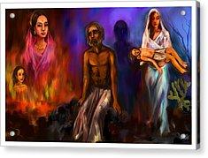 Destiny And Values Acrylic Print