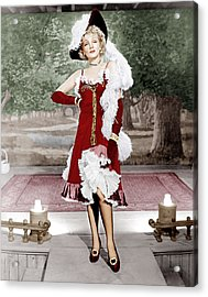 Destry Rides Again, Marlene Dietrich Acrylic Print by Everett