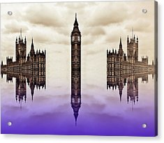 Detached From Time Acrylic Print by Sharon Lisa Clarke