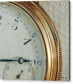 Acrylic Print featuring the photograph Details Of Time 2 by Kay Lovingood