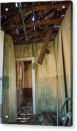 Acrylic Print featuring the photograph Deterioration by Fran Riley