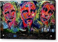 Detox The Ghetto Acrylic Print by Frank DiGiovanni