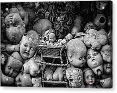 Devil Dolls Acrylic Print by Michael Avory