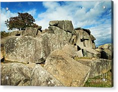 Devil's Den Formation 87 Acrylic Print by Paul W Faust -  Impressions of Light