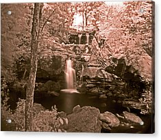 Acrylic Print featuring the photograph Devil's Hopyard by William Fields